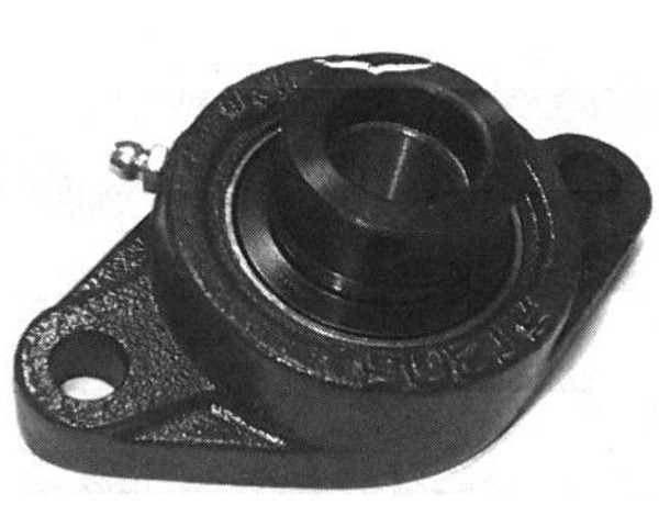 HCFT214, 2 Bolt Flange, 70mm Bore w/ Locking Collar