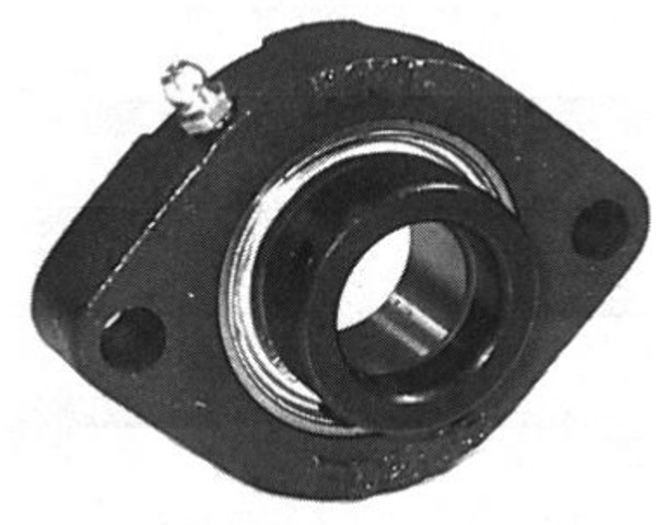 "SAFD204-12g, 2 Bolt , 3/4"" Bore,  Light Duty Flange"