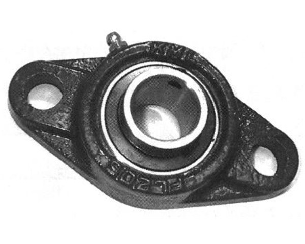 "UCFL205-16, 16mm Bolt hole, 2 Bolt Flange, 1"" Bore"