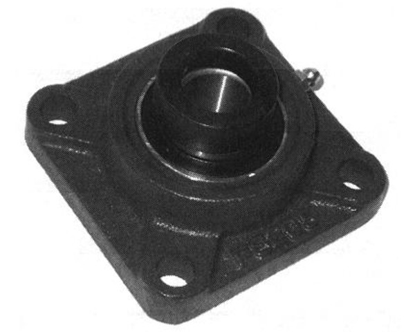 HCFS205-25mm, 4 Bolt Flange, 25mm Bore w/Locking Collar(HCFS205)