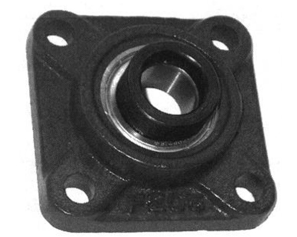 "SAF206-18, 4 Bolt Flange, 1 1/8"" Bore w/locking collar"