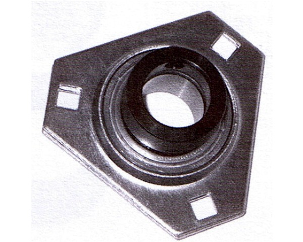 "SAPFT 205-14, 7/8"" Bore, 3 bolt, Triangle Flangette"