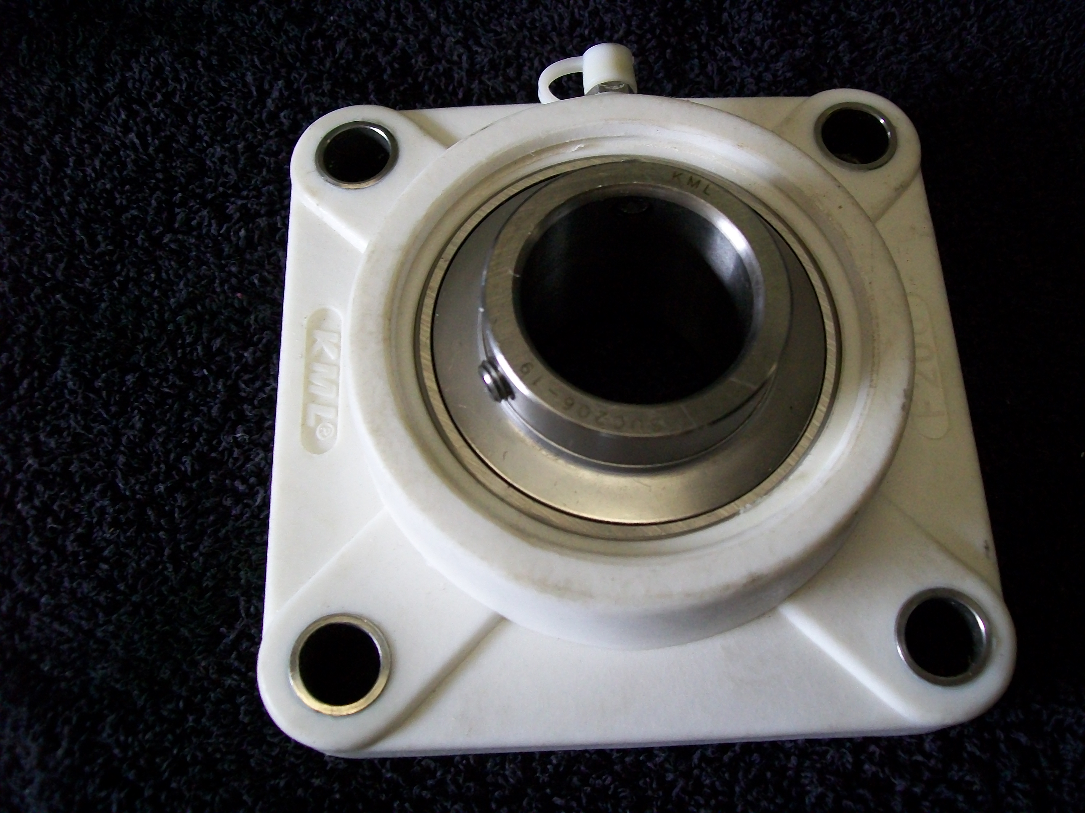 "SUCTF204-12, 3/4"" Bore, 4 Bolt, Stainless Bearing w/ThermoPlastic housing"