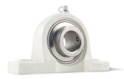 "SUCTP207-23, 1-7/16"" Bore Stainless insert with Thermoplastic Pillow Block"