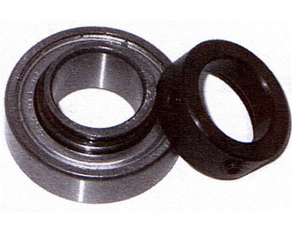 CSA 200 Series Wide Inner Ring Bearing Unit, Cylindrical OD